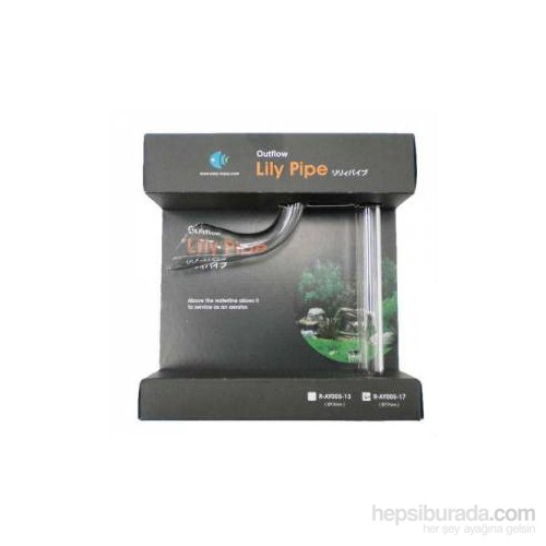 Easy Aqua Lılly Pıpe Emıs Borusu 13Mm