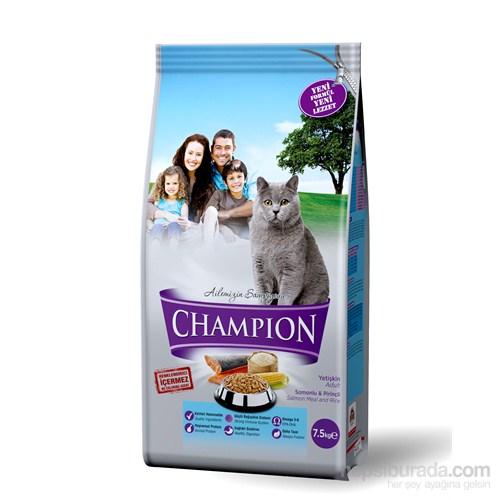 Champion Somonlu & Pirinçli Yetişkin Kedi Maması 7,5 Kg FD*