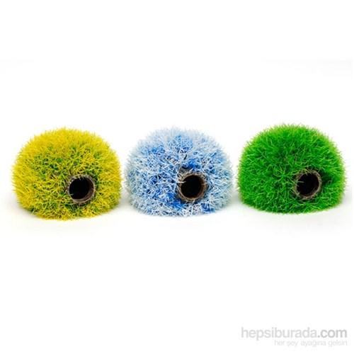 Bitki Topu 12Cm Beyaz-Yeşil