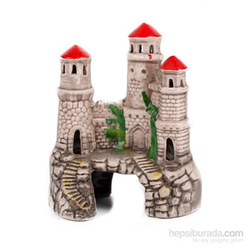 Akvaryum Dekor Üçlü Kule