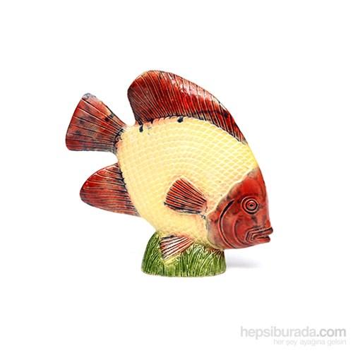 Akvaryum Dekor Kaideli Balık