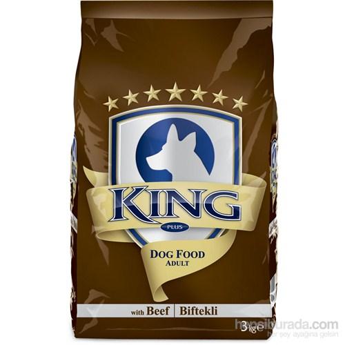 King Plus Beef Dog Biftekli Yetişkin Köpek Maması 3 Kg