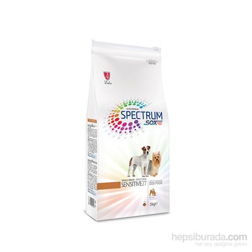 Spectrum S.B. Sensitive27 Küçük Irk Yetişkin Köpek Maması 3 Kg