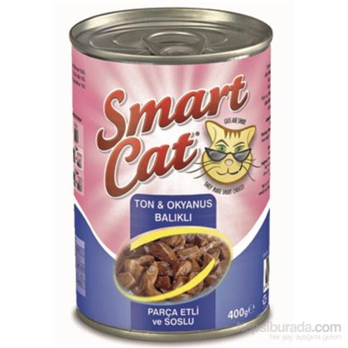 Smart Cat Parça Etli Ton Balıklı Ve Okyanus Balıklı 400 Gr.