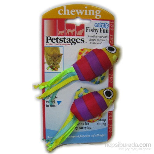 Petstages Fishy Fun(2pak)