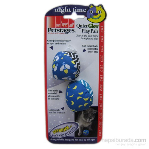 Petstages Quiet Glow Play Pair