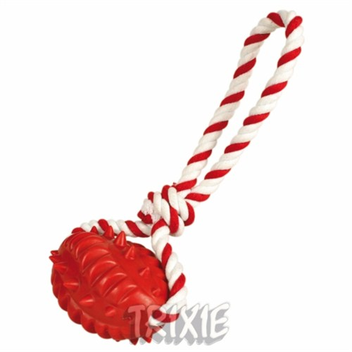 Trixie köpek ipli top oyuncağı 8cm 20cm