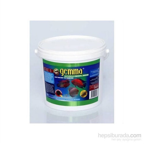 Gemma Growth And Breeder Balık Yemi 4000 Gr. / 10 Lt.