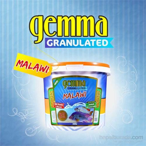 Gemma Malawi Granulated Balık Yemi 3000 Gr. / 10 Lt.