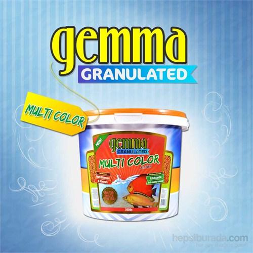 Gemma Multicolor Granulated Balık Yemi 3000 Gr. / 10 Lt.