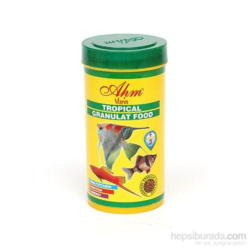 AHM Tropical Gran.Food 250 Ml Balık Yemi