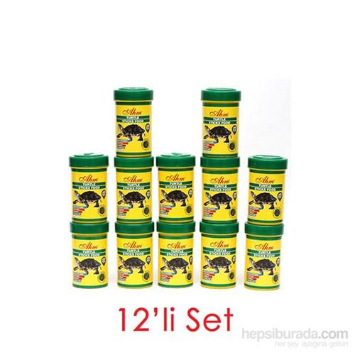 AHM Turtle Stick Green Food (Otçul) 100 Ml 12Li Balık Yemi