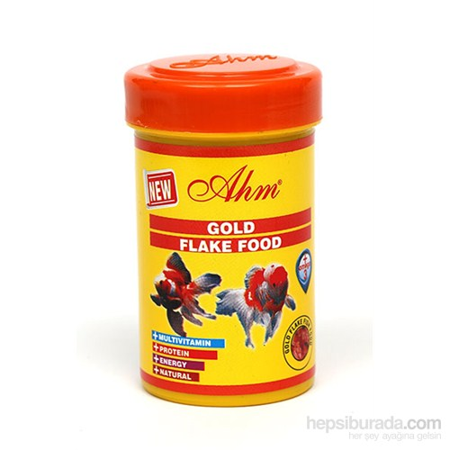 Gold Flake Food 100 Ml Balık Yemi
