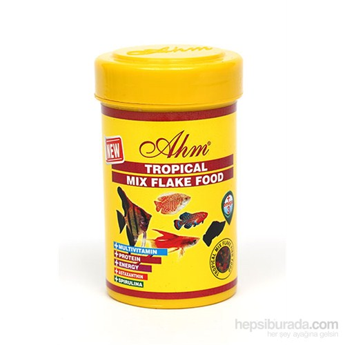Tropical Mix Flake Food 100 Ml Balık Yemi