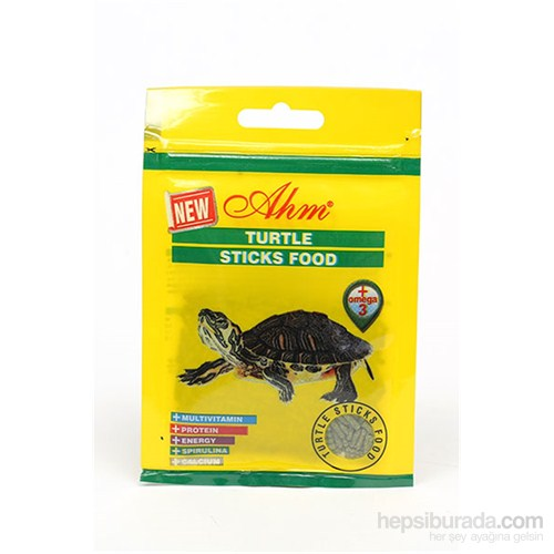 Turtle Sticks Green Food 10 Gr Balık Yemi  12Li
