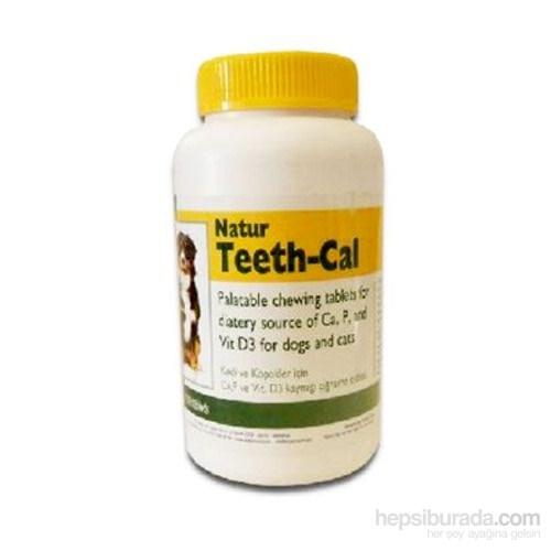 Natur Teeth - Cal Kedi Ve Köpek İçin Vitamin Tablet (100 Adet)