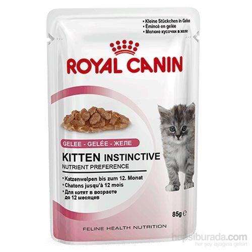 Royal Canin Jelly Kitten Instinctive Yaş Yavru Kedi Maması 85 Gr - 12 Adet