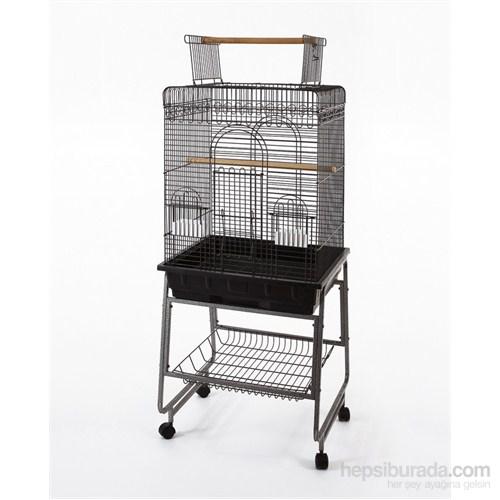 Qh Pet Papağan Kafesi Büyük Pirinç 64X54x152