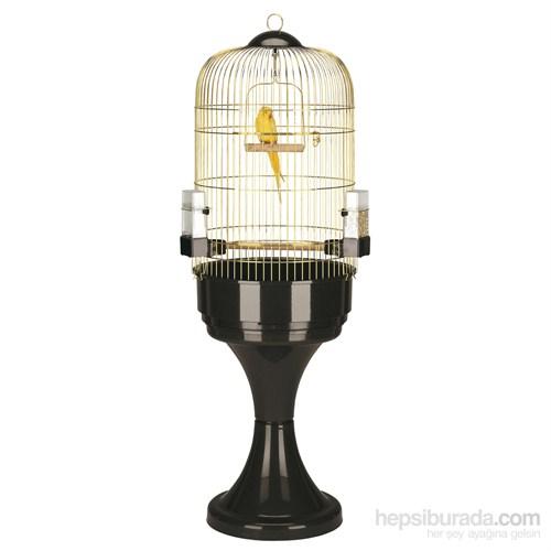 Ferplast Max 6 Sarı Kuş Kafesi + Stand