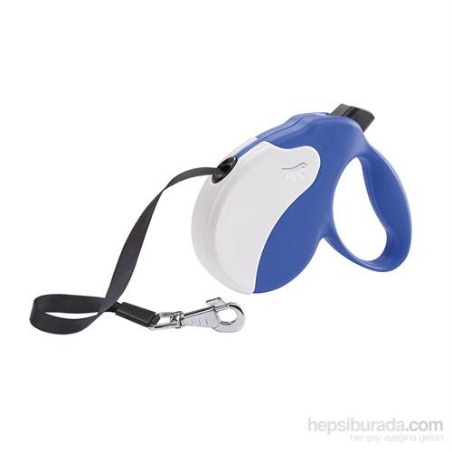 Ferplast Amigo M Tape Mavi Renk-Beyaz Otomatik Köpek Gezdirme Kayısı