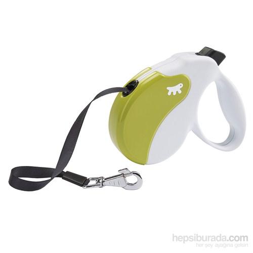 Ferplast Amigo L Tape Beyaz-Yeşil Otomatik Köpek Gezdirme Kayısı