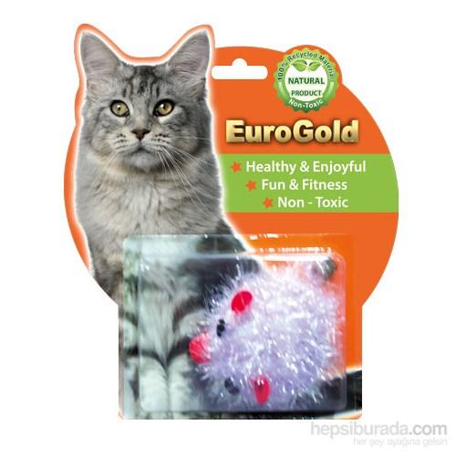 Eurogold Kuyruğu Zilli Şişko Fare Kedi Oyuncağı