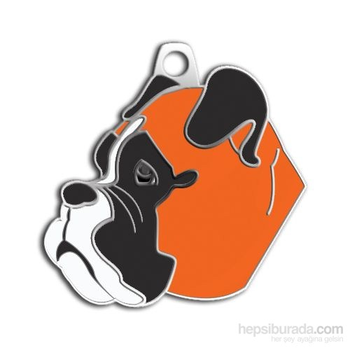 Dalis Pet Tag - Boxer Köpek Künyesi (İsimlik)