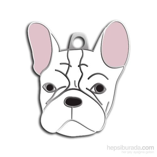 Dalis Pet Tag - French Bulldog Köpek Künyesi (İsimlik)