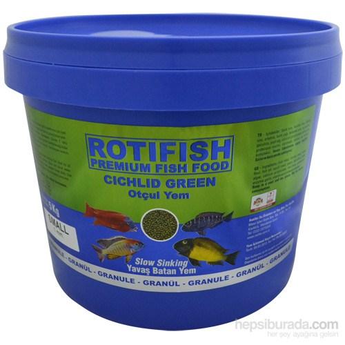 Rotifish Cichlid Green Small (Yavaş Batan) (1 Mm) 5000Gr.
