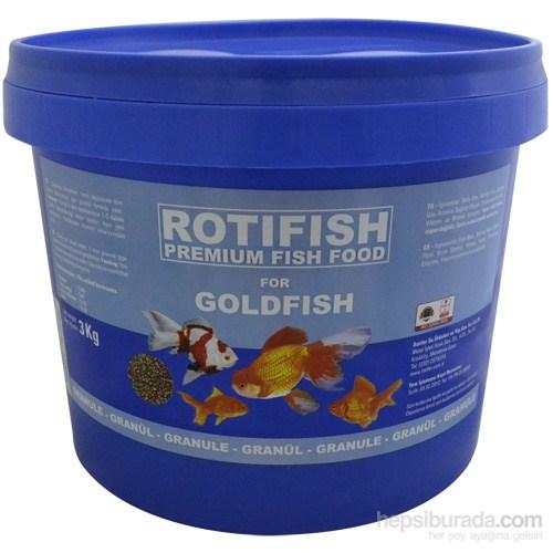 Rotifish Goldfish 3000Gr. Japon Balığı Yemi
