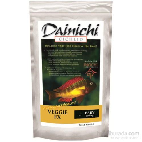 Dainichi Veggie Fx Baby 2,5 Kg. 1 Mm. Otçul Doğal Renlendirici Çiklit Yemi