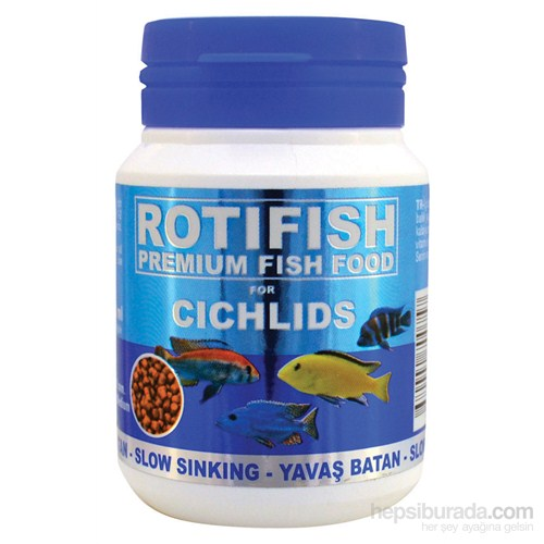 Rotifish Cichlid Red Medium (Yavaş Batan) (2 Mm) 100Ml (70 Gr.)