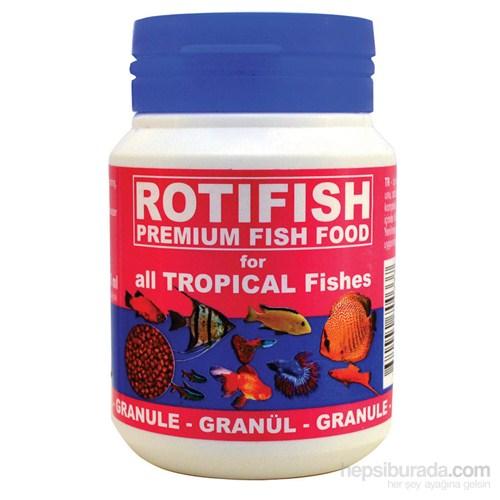 Rotifish Tropical Fish Feed 100Ml (40Gr) (Tatlısu Akvaryum Balıkları Yemi)