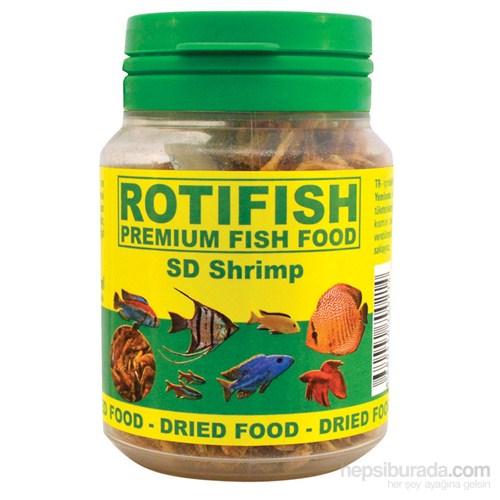 Rotifish Sd Shrimp 100Ml (10Gr.) Kurutulmuş Karides
