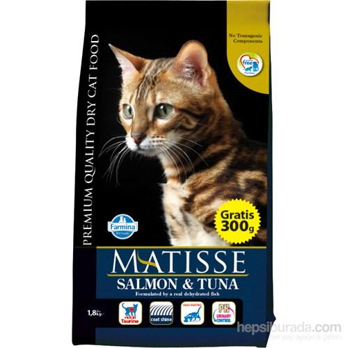 Matisse Somonlu Tuna Balıklı Kuru 1,5 Kg Kedi Maması