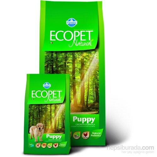 Ecopet Natural Tavuk Etli Yavru Büyük Irk 12 Kg Köpek Maması