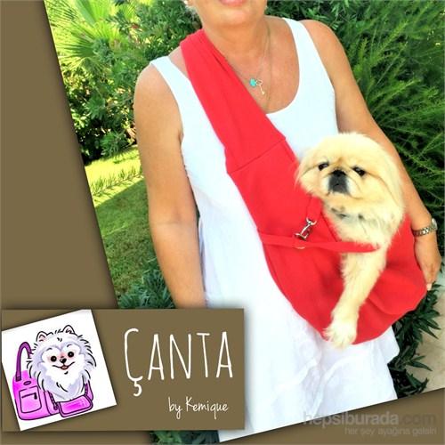 Çanta By Kemique - Köpek Taşıma Çantası - Kırmızı