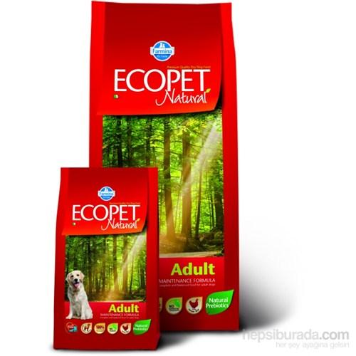 Ecopet Natural Tavuk Etli Yetişkin Mini Irk 2,5 Kg Köpek Maması