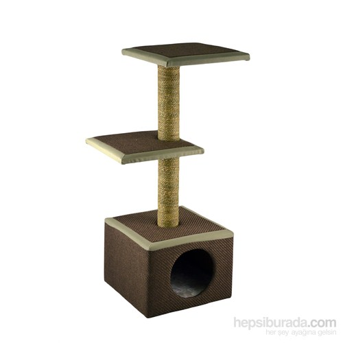 Imac House 2 Rıpıanı Kedi Yuvalı Tırmalama Tahtası
