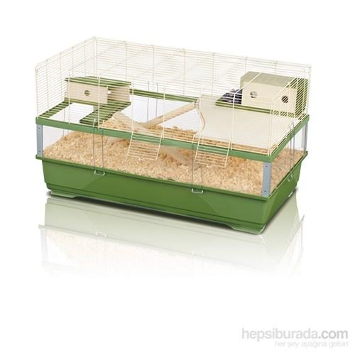 Imac Plexı 100 Wood Ahşap Kemirgen Kafesi 100*54,5*55,5