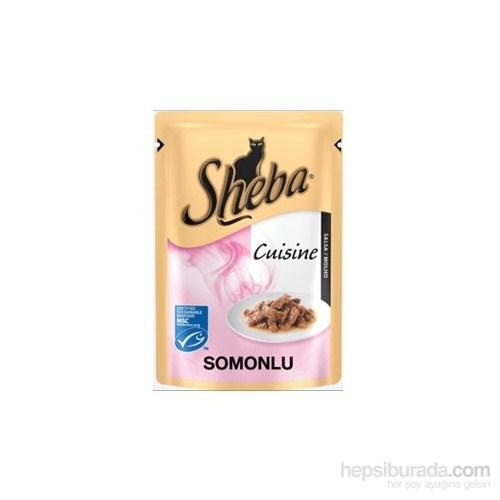 Sheba Somon Balıklı Kedi pouch Yaş mama 85 gr