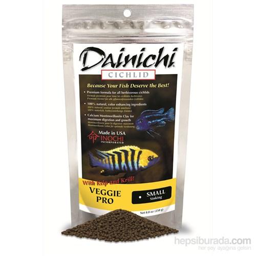Dainichi Veggie Pro Baby 500 gr. 1 mm. otçul doğal renlendirici çiklit yemi