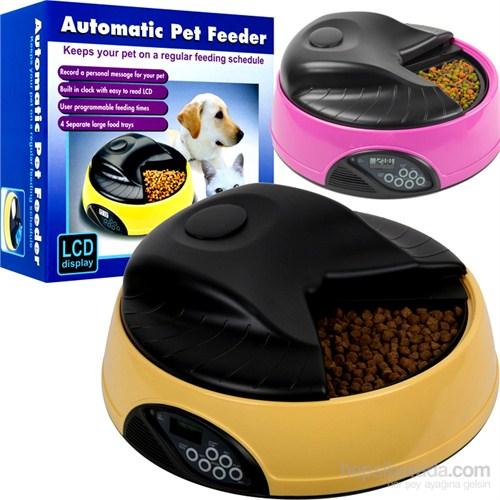 Automatic Pet Feeder Otomatik Zaman Ayarlı Mama Kabı