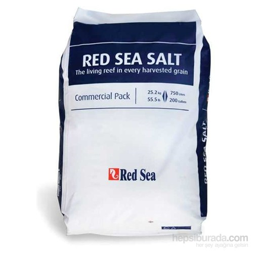 Red Sea Deniz Tuzu 25 Kg Eko Paket 750 Lt