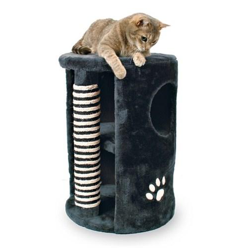 Trixie kedi peluş oyun&tırmalama evi 41x58cm