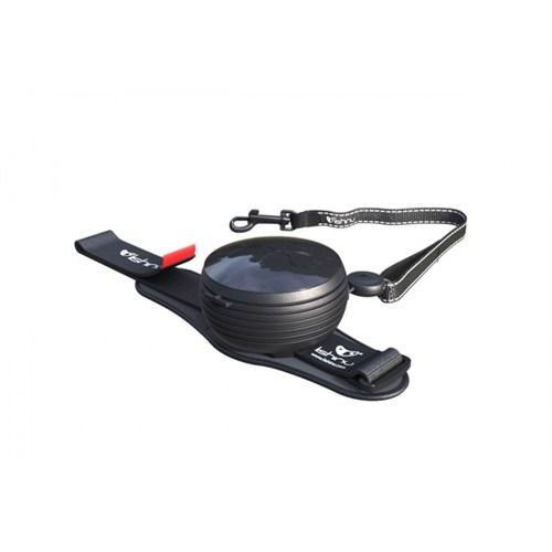 Lishinu Siyah Light Lock Akıllı Kontrol Tasması