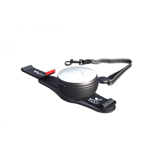Lishinu Beyaz Light Lock Akıllı Kontrol Tasması