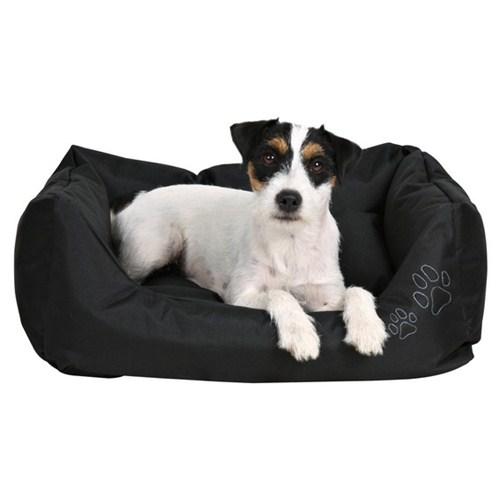 Trixie köpek dış mekan yatağı 90x80cm Siyah