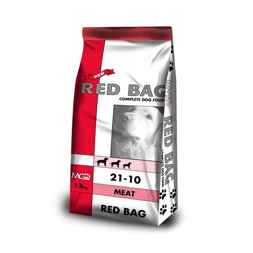 Red Bag Adult Meat Rice köpek maması 13 kg