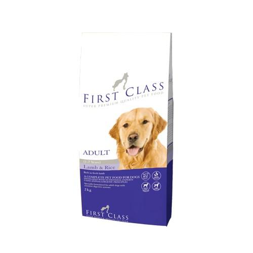 First Class Kuzulu Yetişkin Köpek Maması 2 Kg